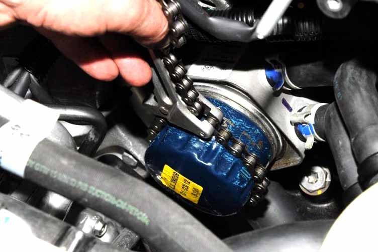 7 - Масляный фильтр для двигателя к4м